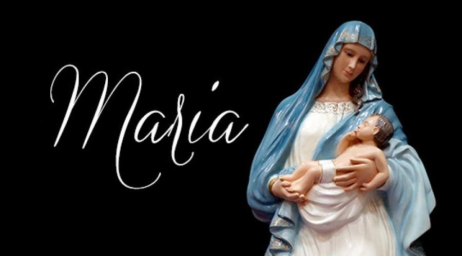 Maio, mês mariano, celebramos a mãe de Jesus